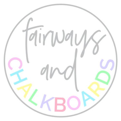 Fairways & Chalkboards Shop