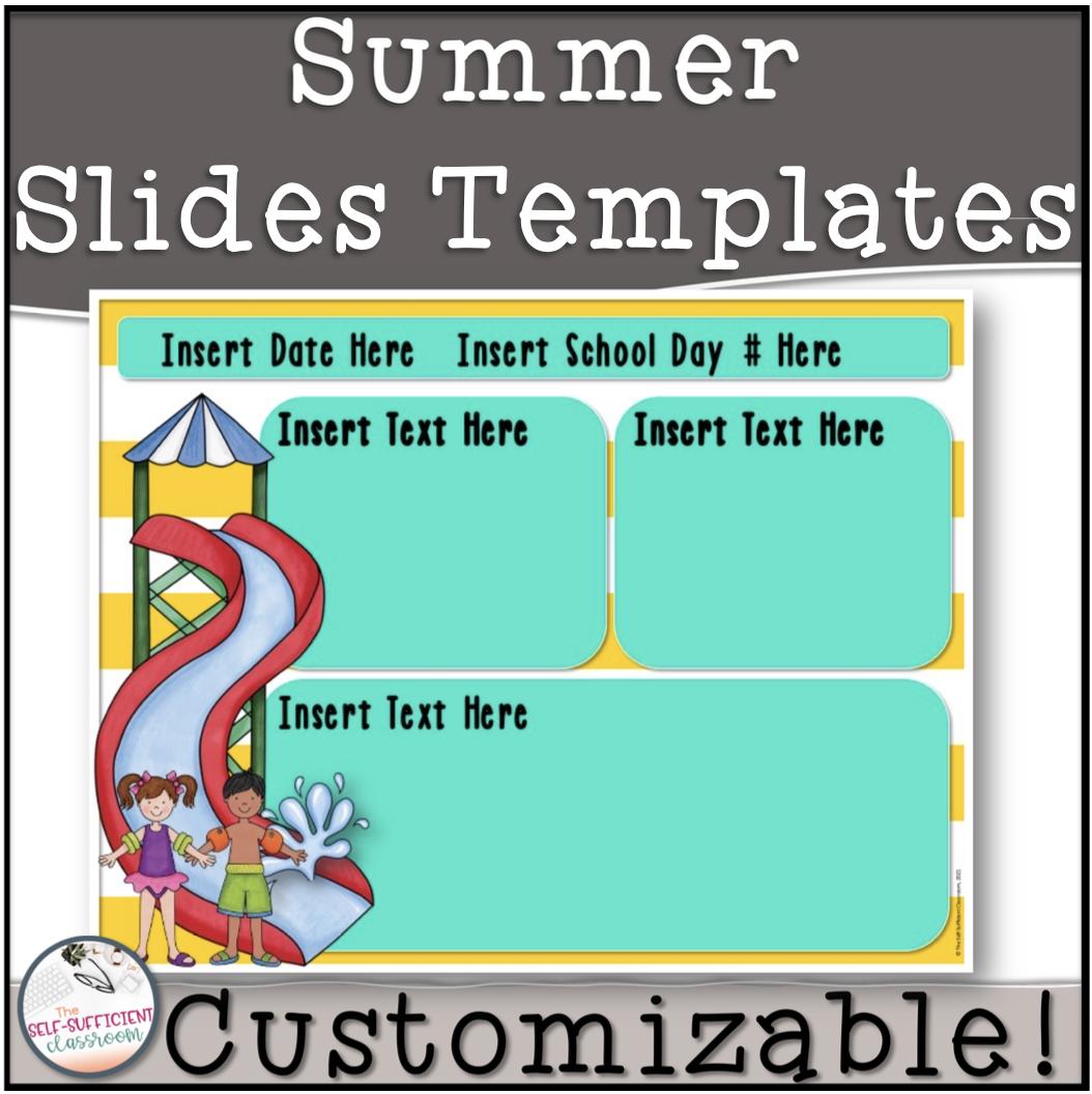 Summer Message Slides Templates