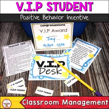 V.I.P Positive Behavior Classroom Management Tool