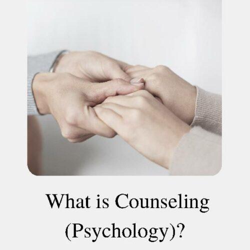 Counseling (Psychology), Reading Passage