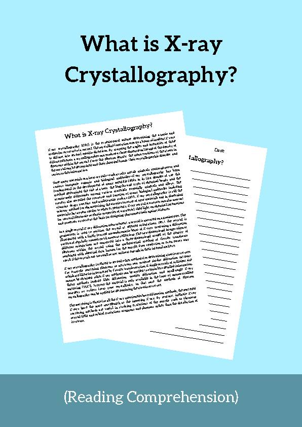 X-ray Crystallography, Reading Passage