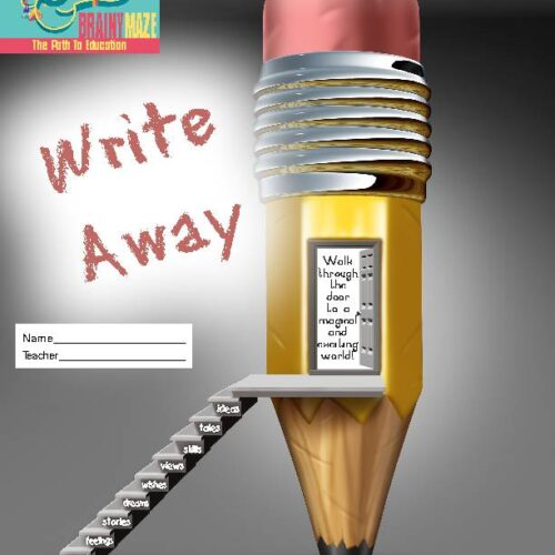 Writing prompts through WRITE AWAY! 84 Text & Picture Prompts Level C
