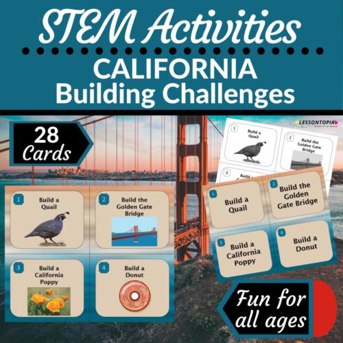 STEM Activities | California Building Challenges