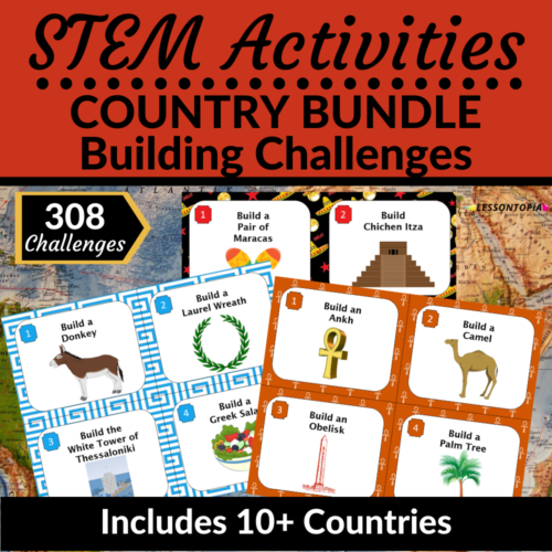 STEM Activities Bundle   Countries's featured image