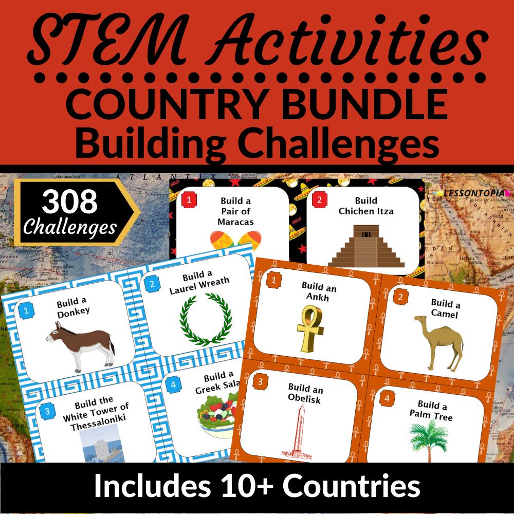 STEM Activities Bundle | Countries