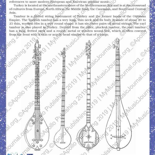 My Music Journal - Music Textbook for First Grade