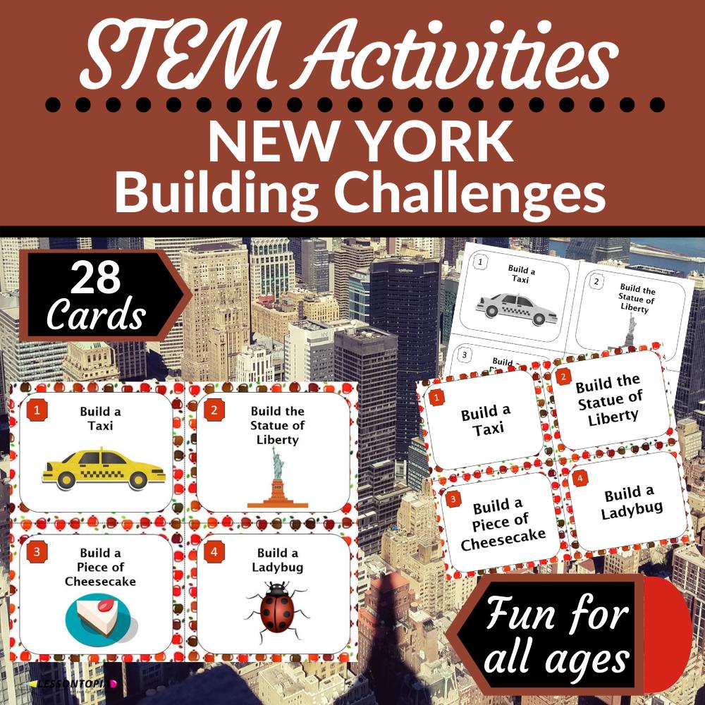 STEM Activities | New York Building Challenges
