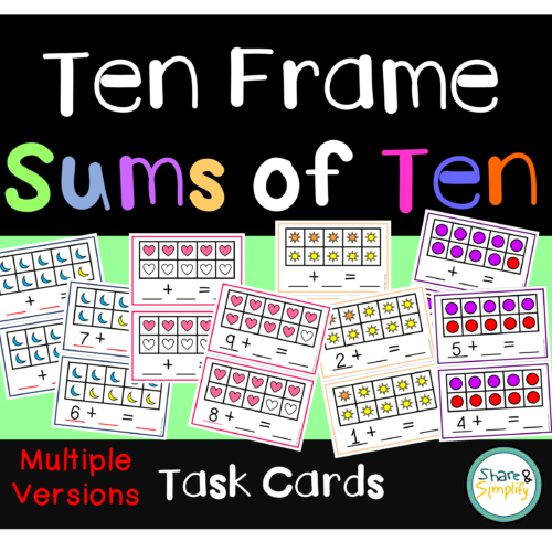 Sums of Ten - Ten Frames's featured image