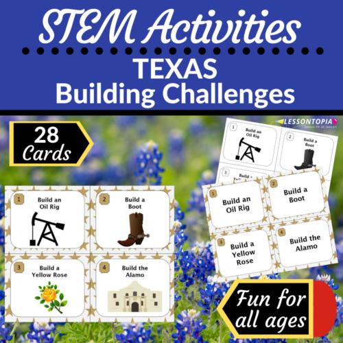 STEM Activities   Texas Building Challenges