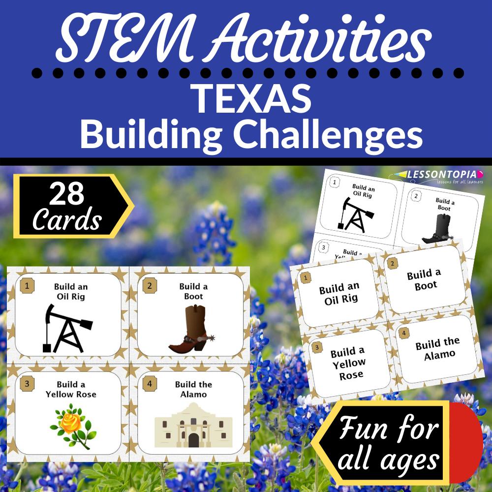STEM Activities | Texas Building Challenges