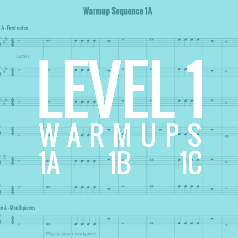 Band Warmups - Level 1