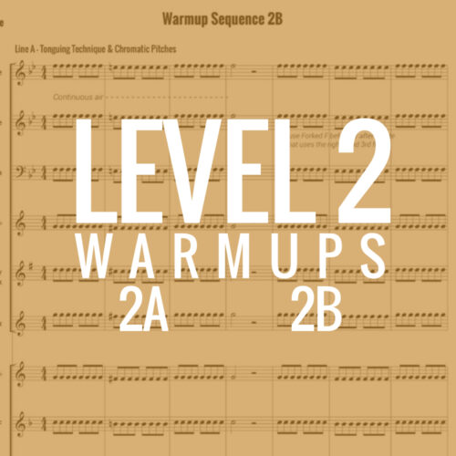 Band Warmups - Level 2