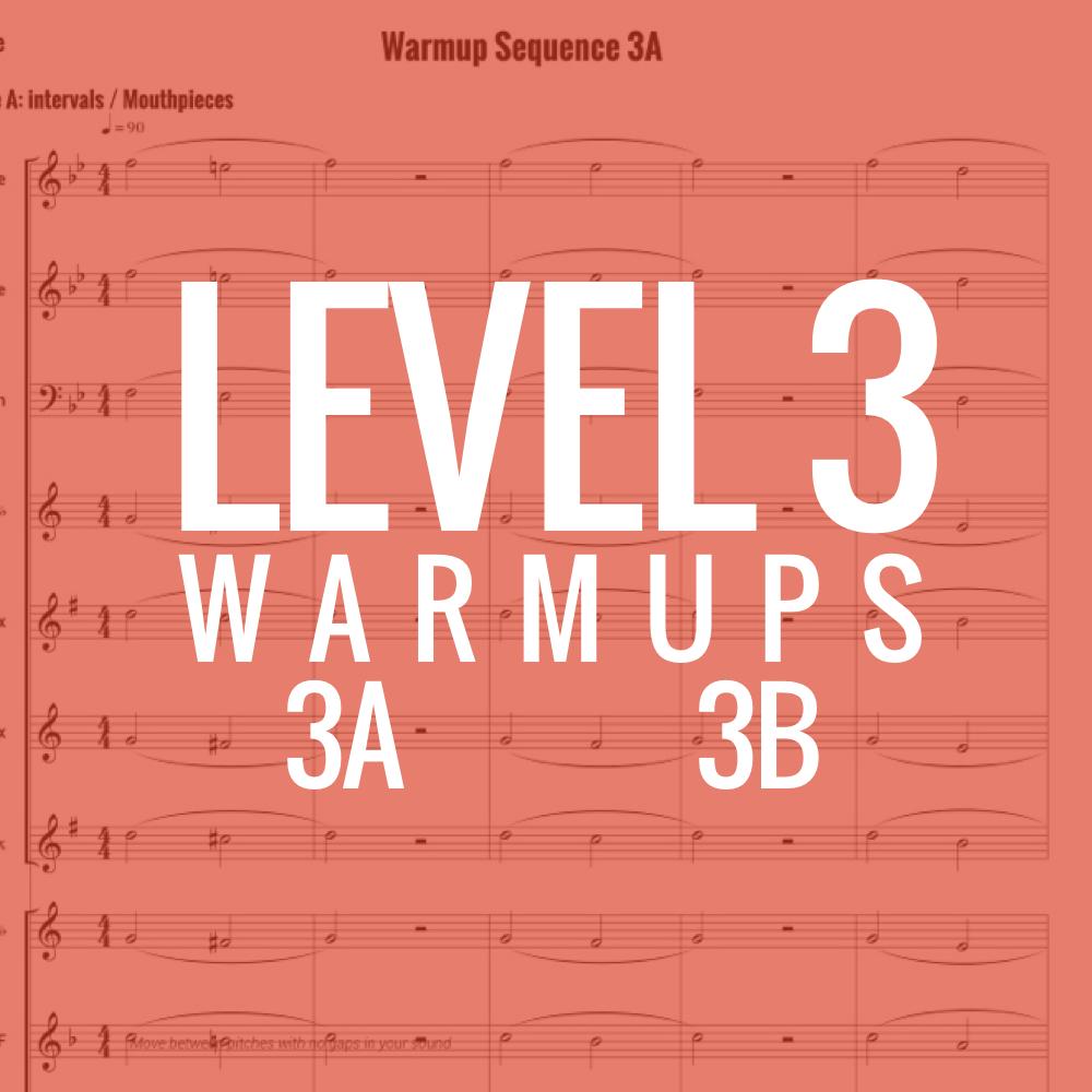 Band Warmups - Level 3