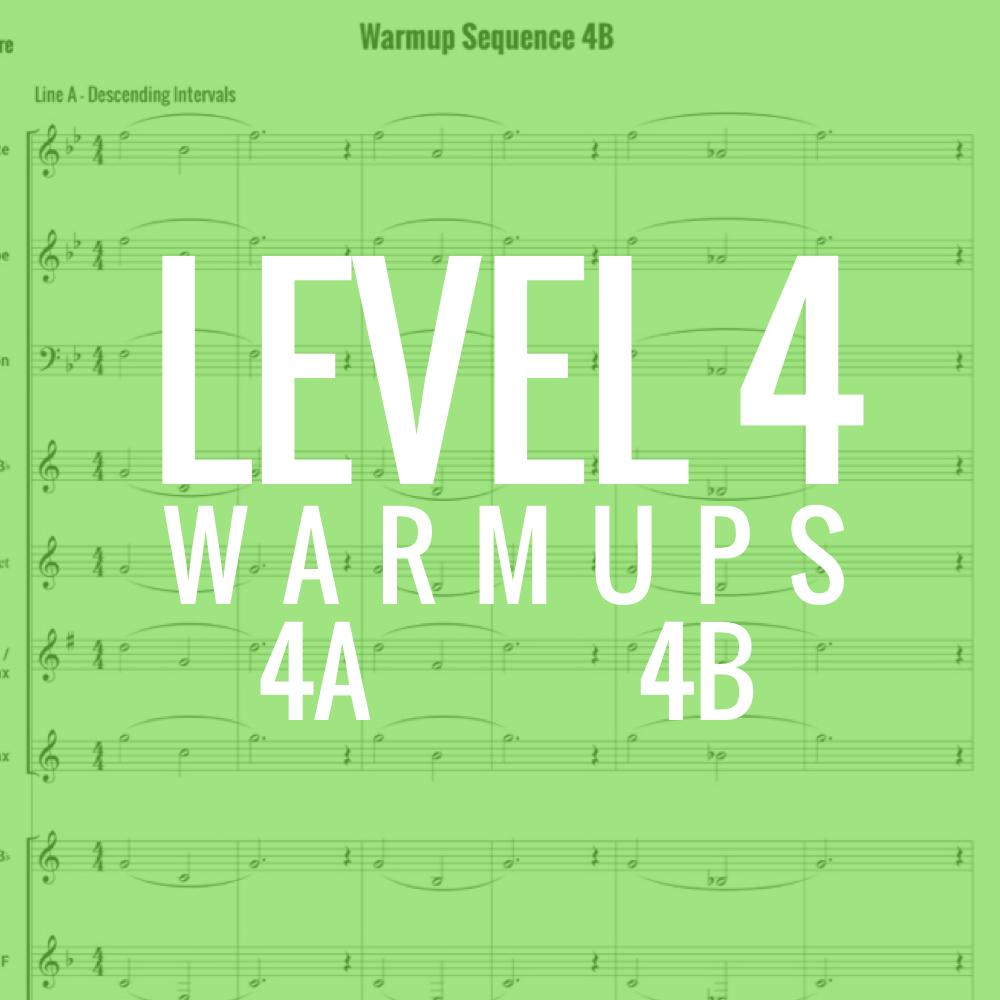 Band Warmups - Level 4