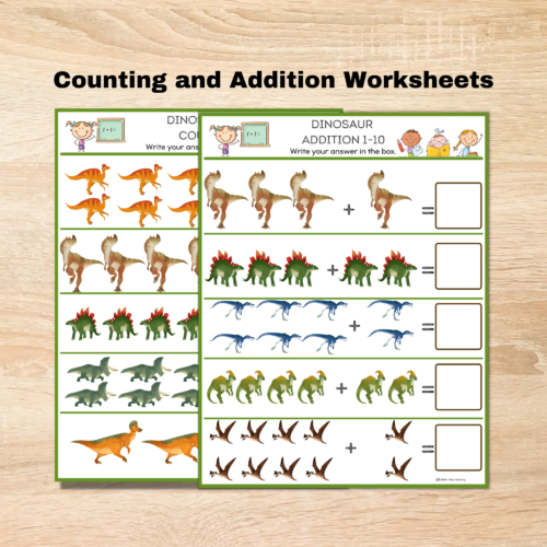 Dinosaur Counting and Addtion