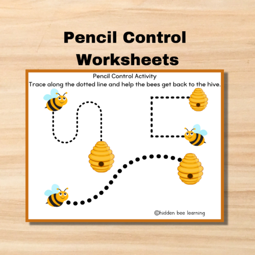 Pencil Control Worksheet