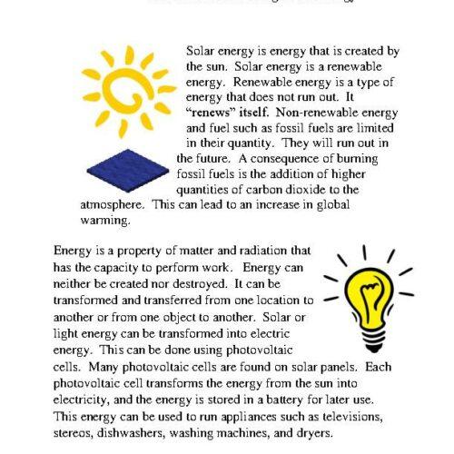Minecraft: Harvesting Solar Energy PDF