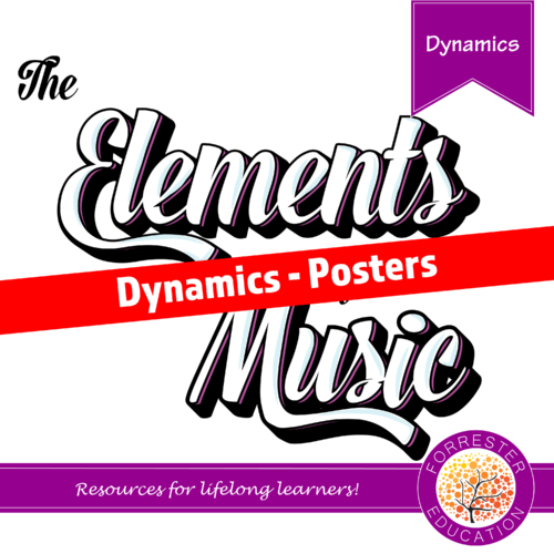 Elements of Music - Dynamics - Posters
