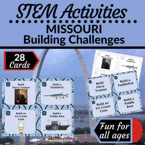 STEM Activities   Missouri Building Challenges