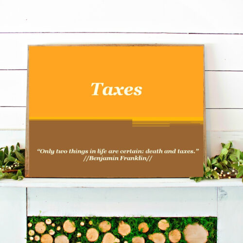 TAXES POWERPOINT // personal finance classroom resources // dave ramsey// state taxes // teacher powerpoint // personal finance//high school