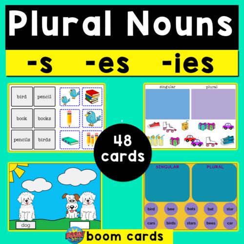 Plural Nouns Boom Cards