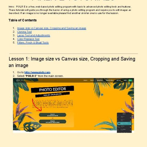 Photo Editing with Free PIXLR E - Part 1. Chromebook Friendly!'s featured image