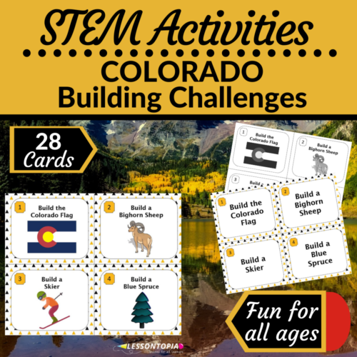 STEM Activities   Colorado Building Challenges